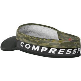 Compressport Ultralight Visir, black/camo